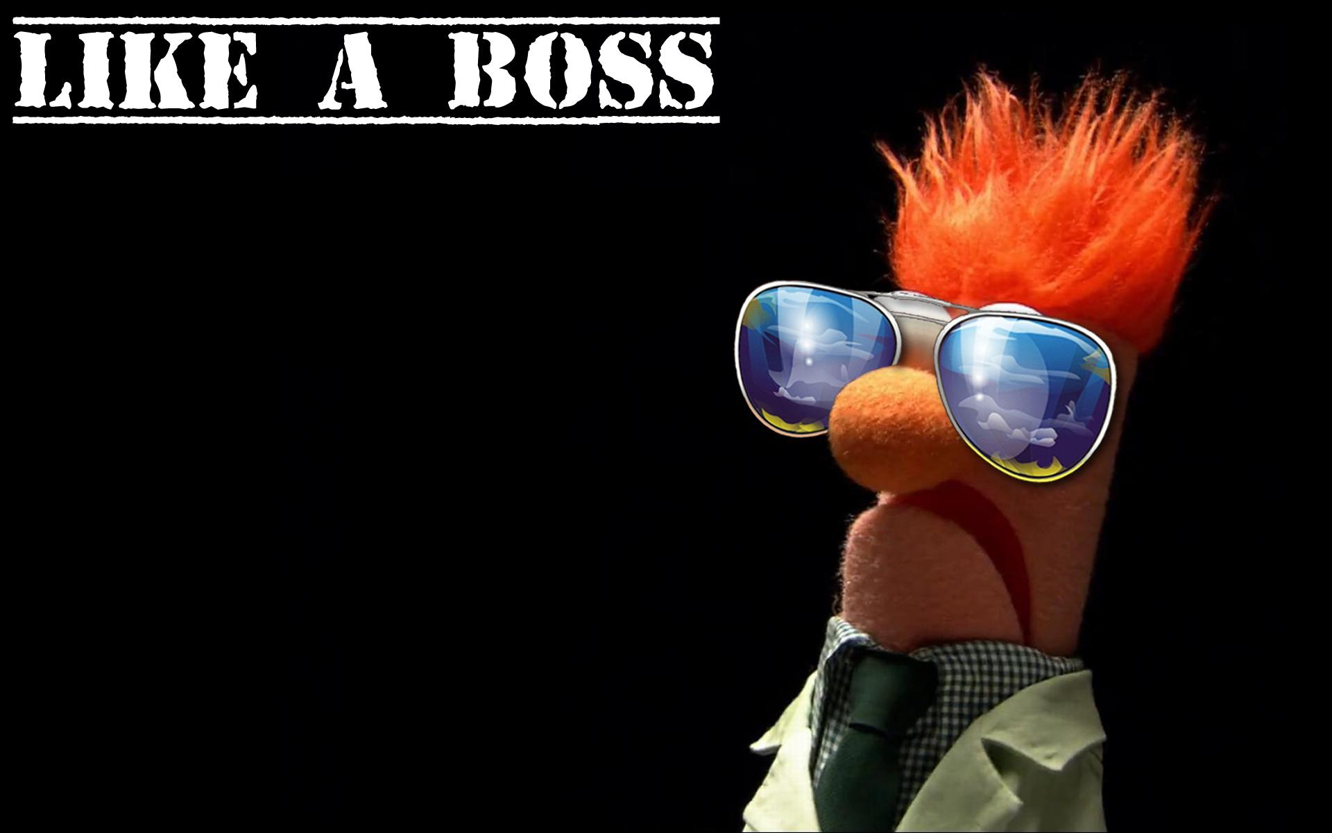 Beaker, The Muppet Show, like a boss - Free Wallpaper / WallpaperJam hdclipartall.com