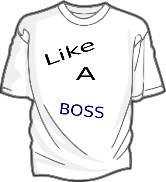 Like a Boss Clipart this image as:
