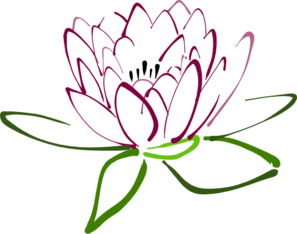Lotus Lilac Clip Art
