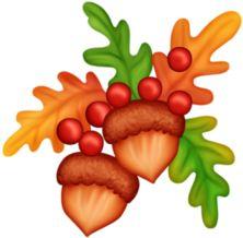 lilia-2112 u2014 «ACORNS-1.png» на Яндекс.Фотках u0026middot; Thanksgiving Fall ClipartThanksgiving ...