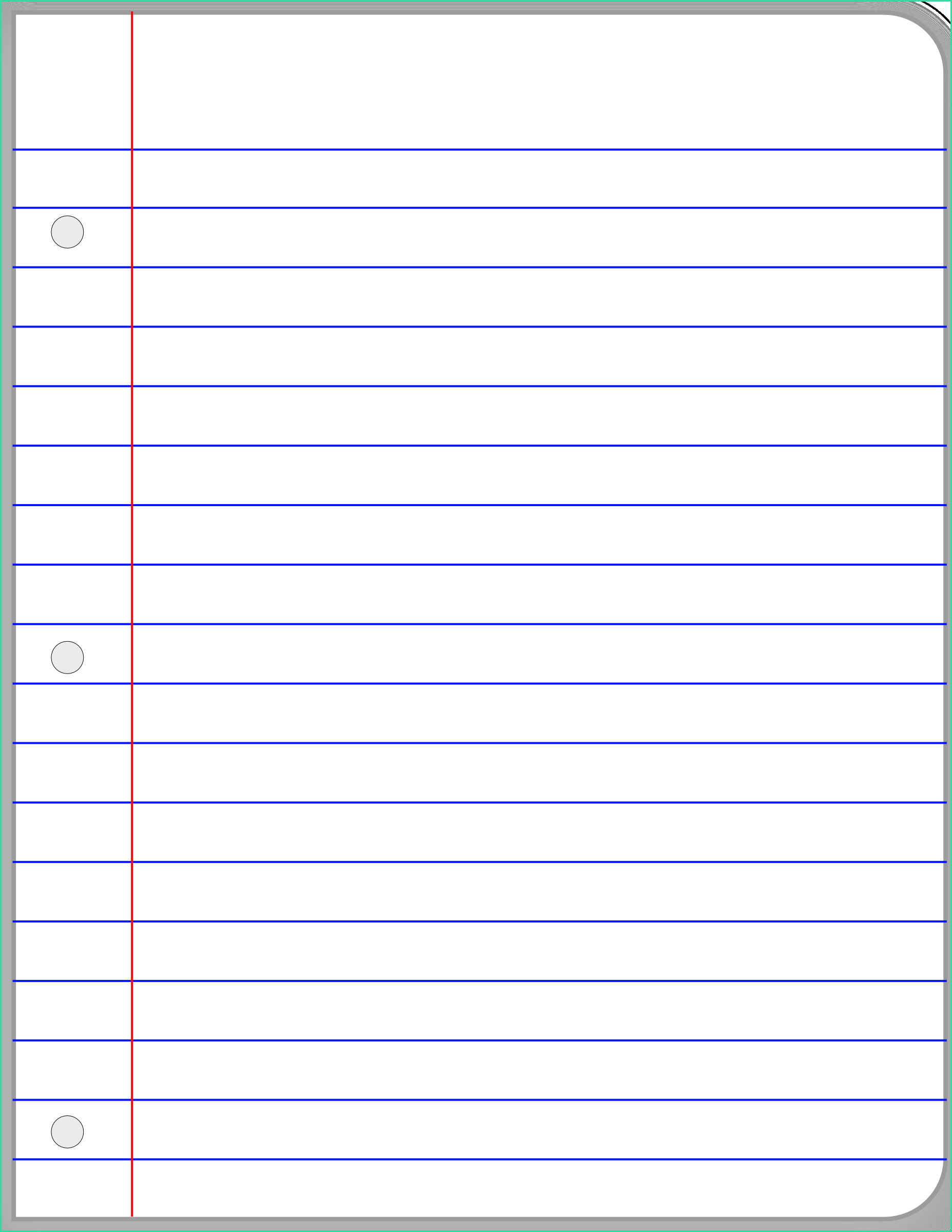 lined paper clipart latest essay template word