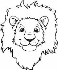 Image result for lion clipart for kids Kids Coloring Sheets, Zoo Coloring  Pages, Coloring