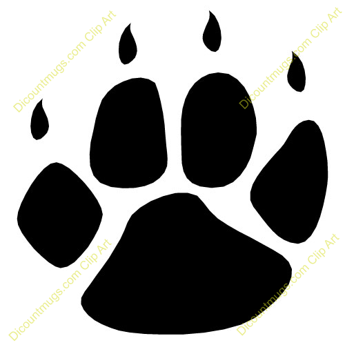 Lion Paw Print Clipart All ..