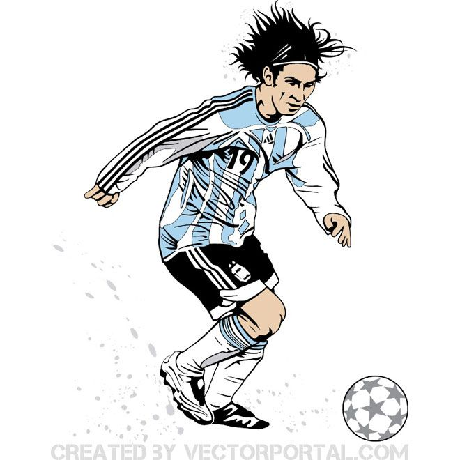 Lionel Messi Clipart-Clipartlook.com-660