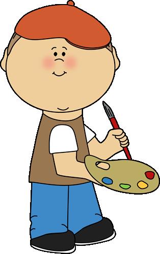 Little Boy French Artist