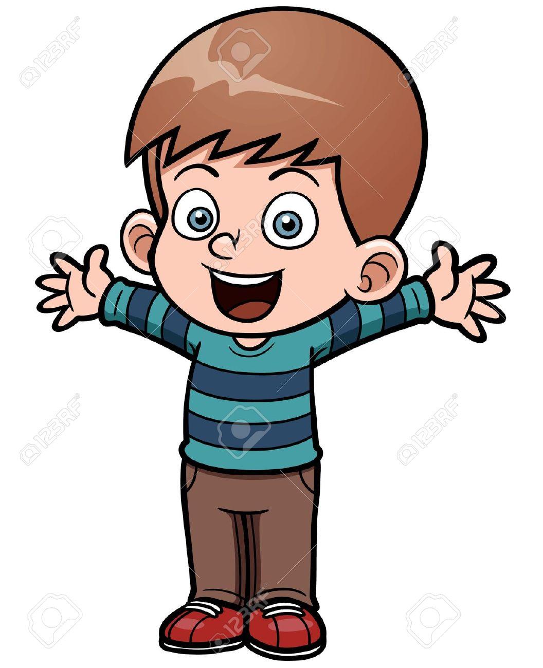 little boy: Vector .