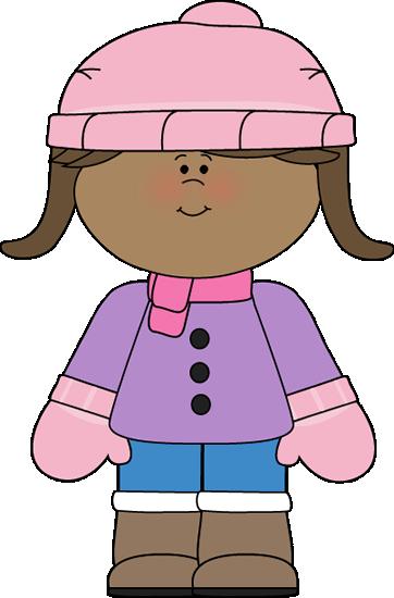 Little Girl Dressed for Winter