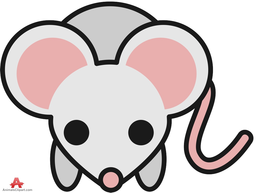 Little gray mouse clipart free clipart design download