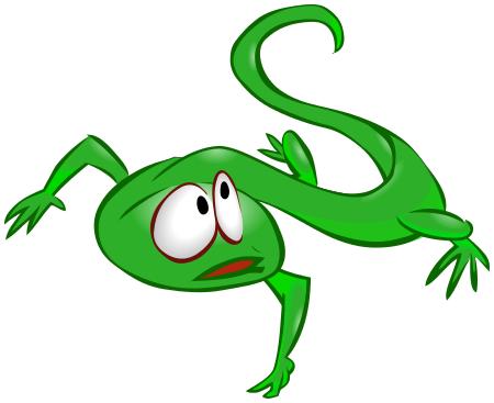 Lizard Frightened Green Animals L u0026middot; «