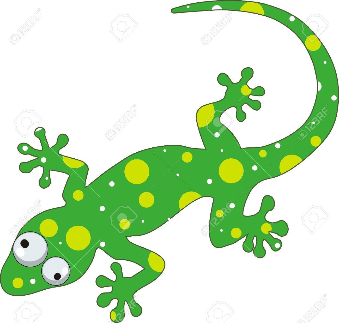 lizard , green gecko