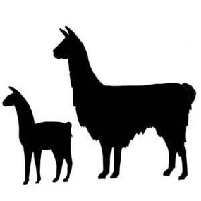 Llama clipart free to use clip art resource