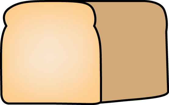 Loaf of Bread - clip art image of a loaf of fresh homemade bread