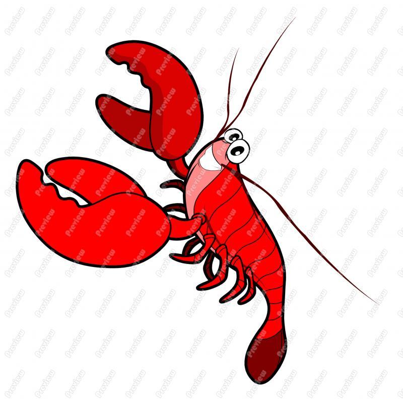 ... Lobster Clip Art ...