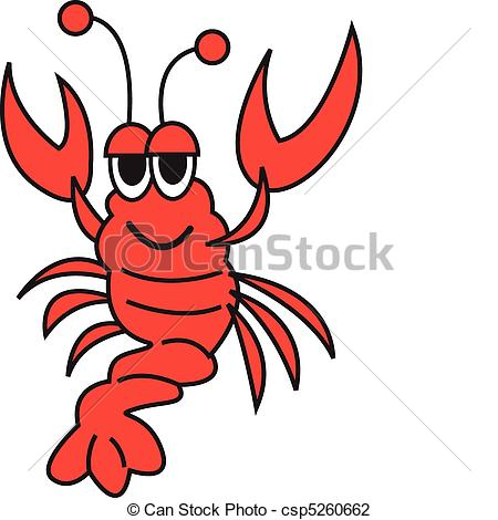 Lobster Vector Clip Art.
