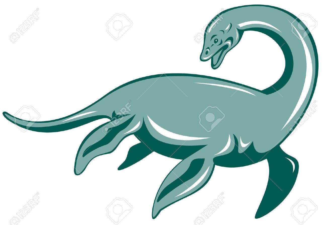 Loch Ness Monster Clip Art