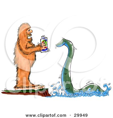 ... Loch Ness Monster u0026middot; Preview Clipart