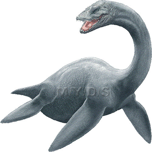 Loch Ness Monster, Nessie clipart picture / Large