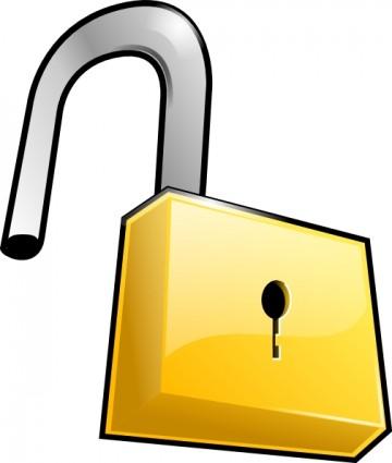 Lock And Key Clip Art .