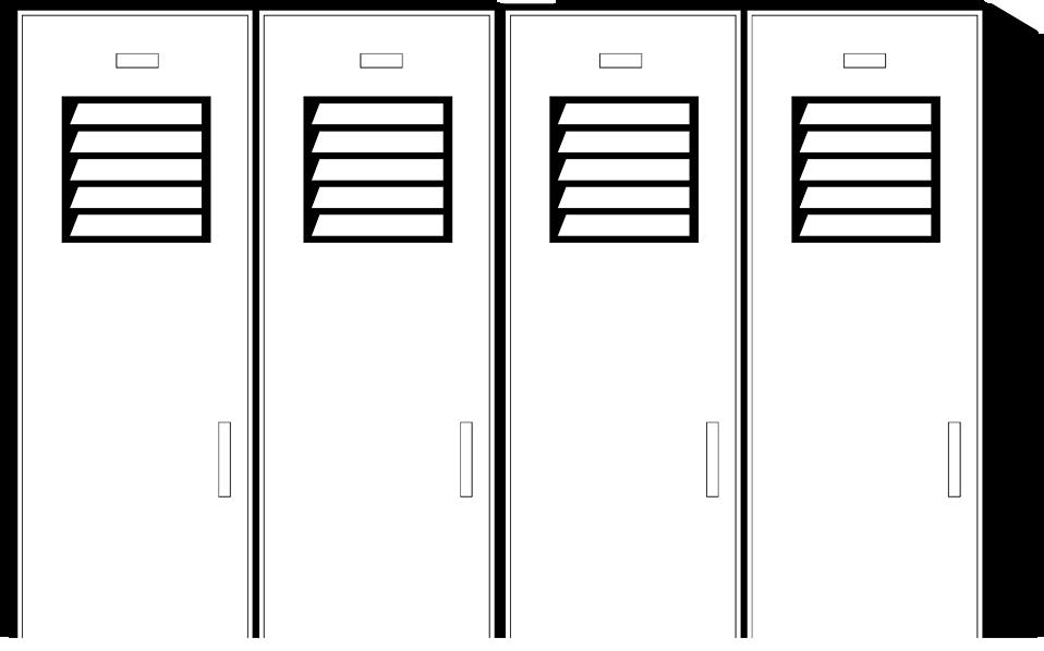 Lockers Free Stock Photo Illustration Of School Lockers 7660