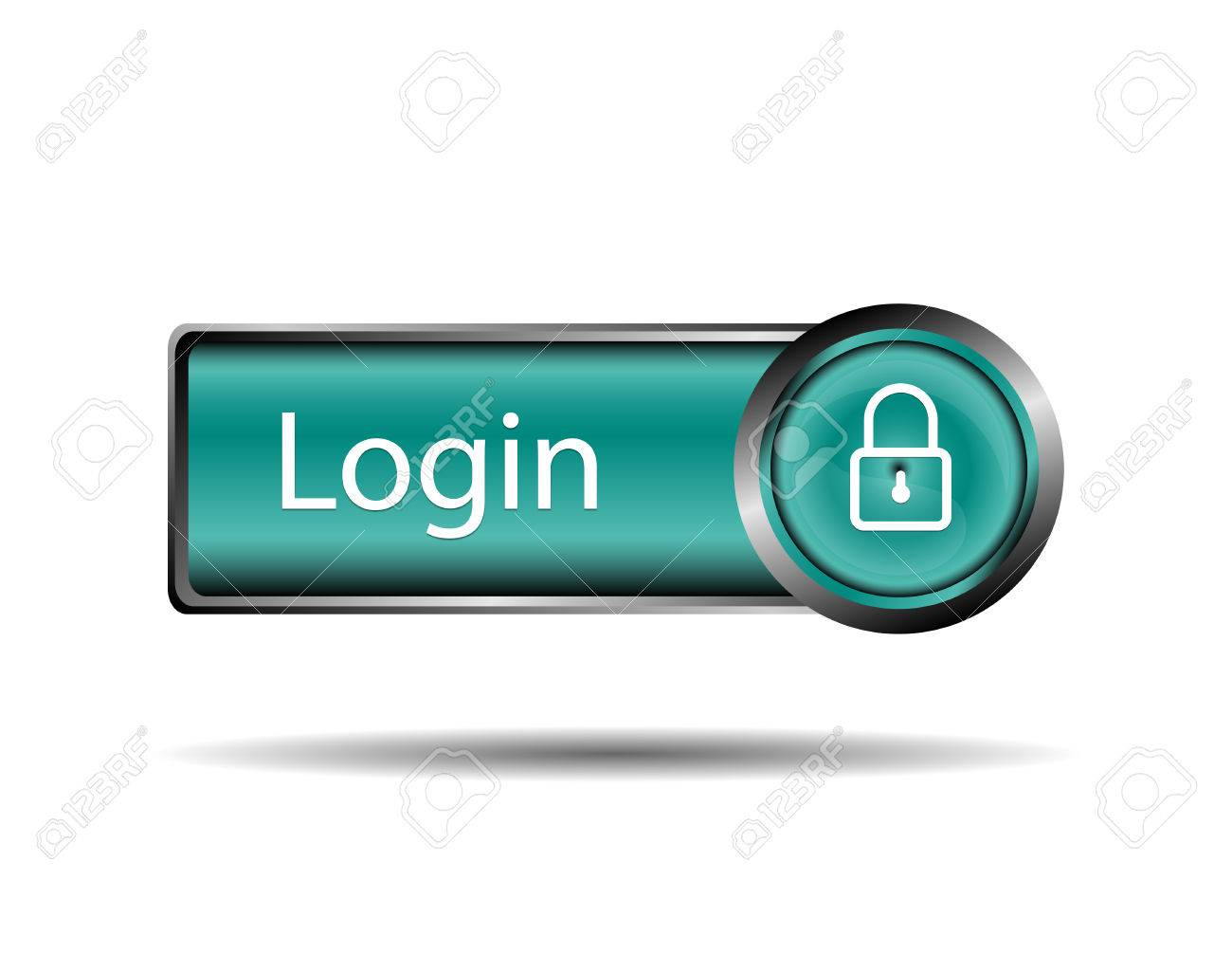 Login button sign Stock Vector - 31627006