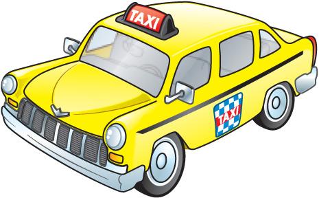 London Taxi Clipart