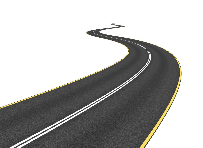 Long Curvy Road Clipart