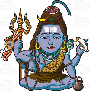 Lord Shiva Clipart