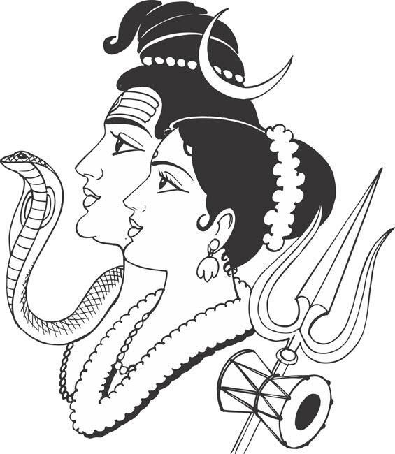 lord shiva clipart 10