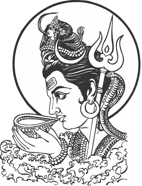 lord shiva clipart 4