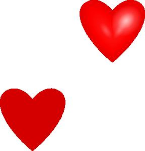 Love Hearts clip art free .