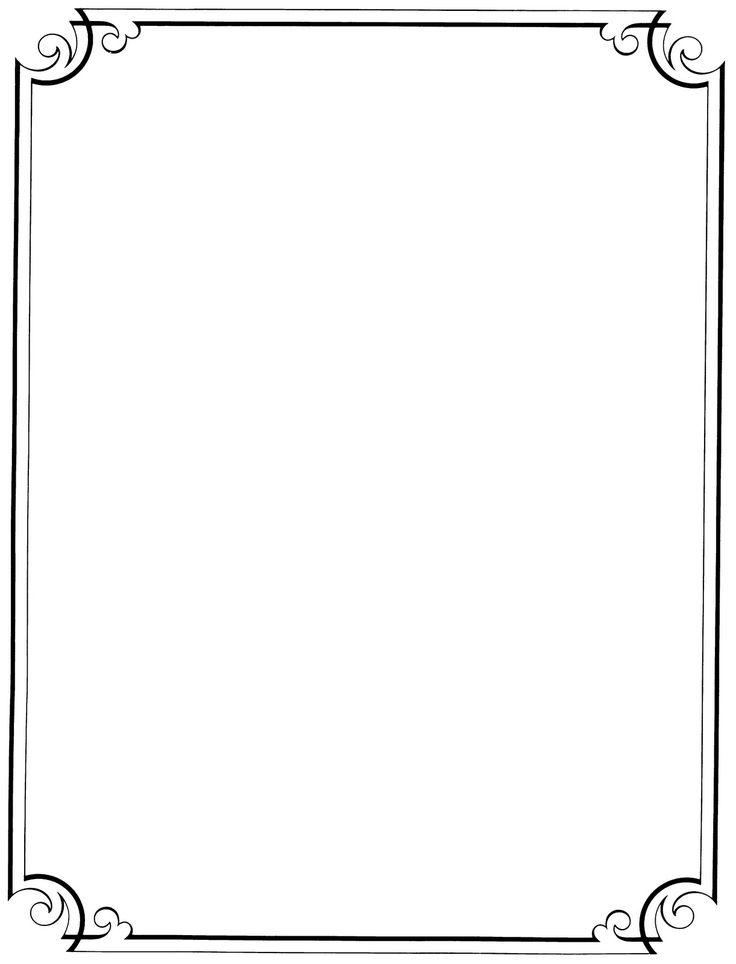 Love this border. Free Printable Clip Art Borders   ... : Free Vintage
