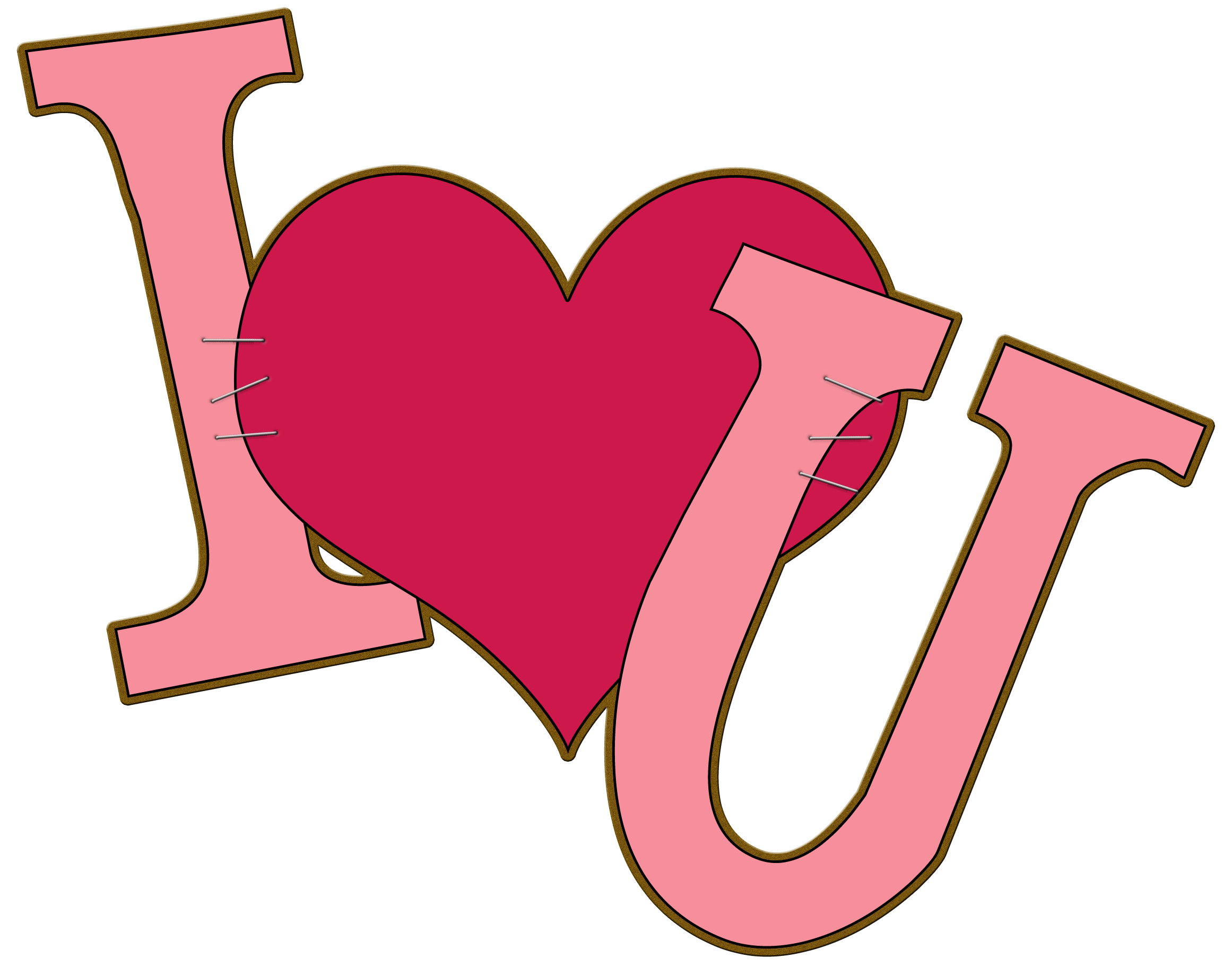 Love You Clipart Clipart Panda Free Clipart Images