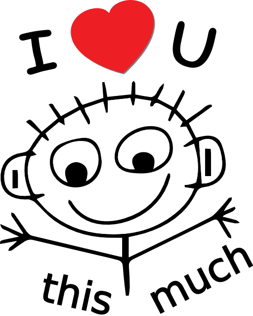 Love You This Much Clipart Royalty Free Public Domain Clipart