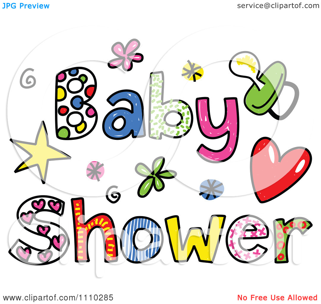 Luau Clip Art Black And White Baby Clip Art Free Clipart Baby Shower