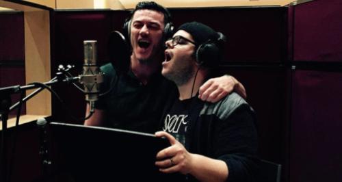 Luke Evans and Josh Gad recor - Luke Evans Clipart