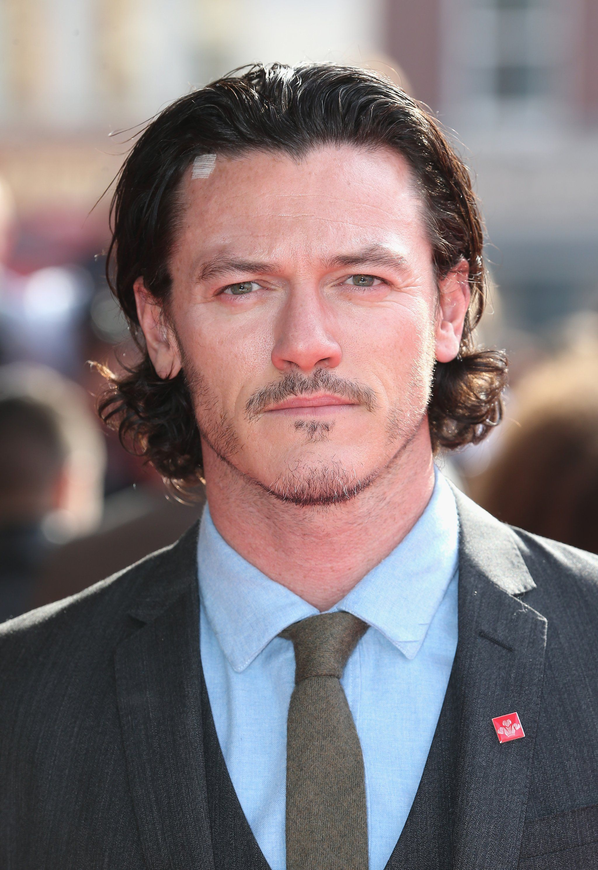 These Steamy Luke Evans Pictures Will Make You Crank the AC Up to Full Blast