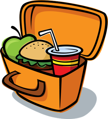 Lunch box lunch clip art health and nutrition social studies image