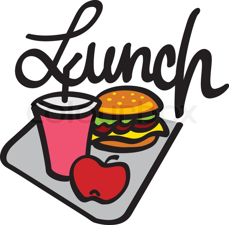 Lunch clip art at vector clip art free image