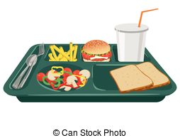 . hdclipartall.com A school lunch tray with copy space - A school lunch tray on.