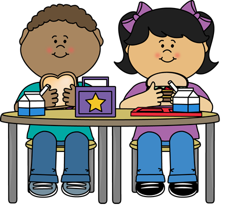 Classroom Lunch Clipart #1