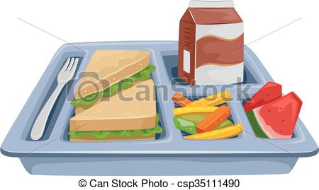 . hdclipartall.com Meal Tray  - Lunch Clipart