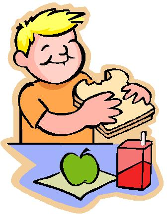 Preschool Lunch Clipart #1