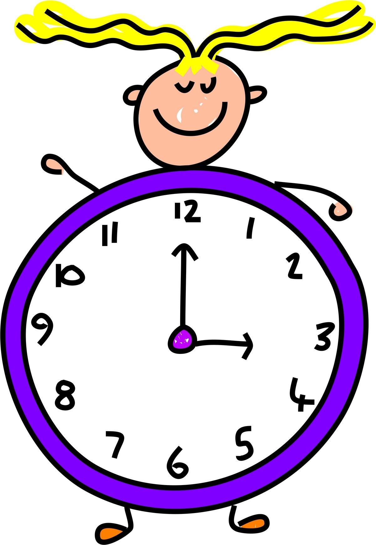 Lunch Time Clip Art Clipart . - Time Clock Clip Art