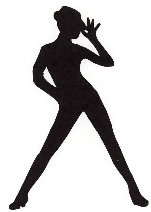 lyrical dancer clipart