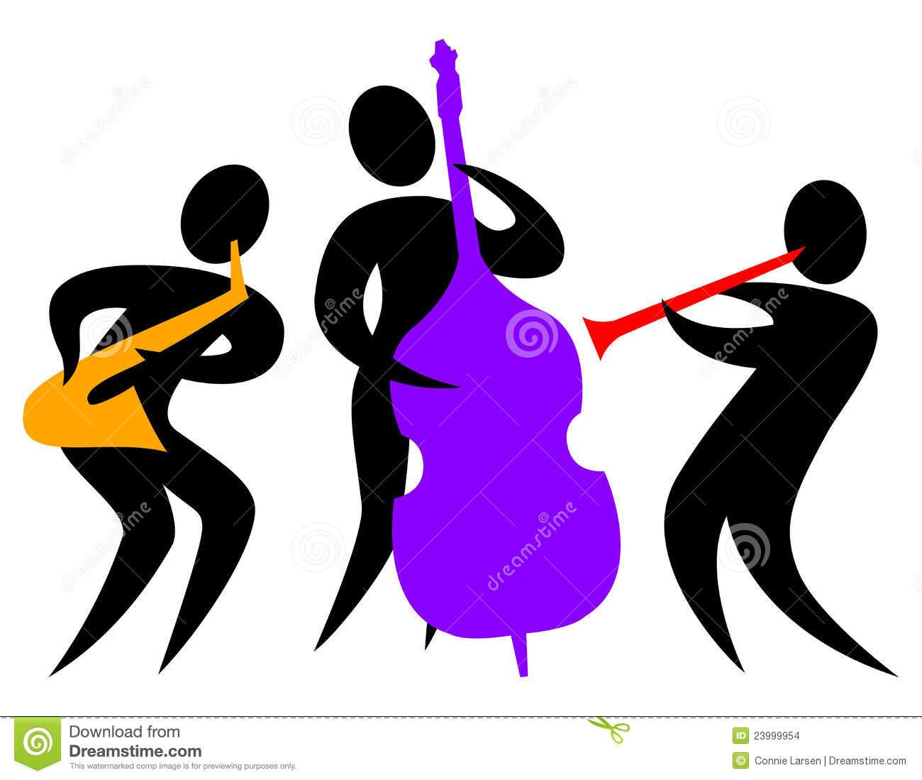 Lyrical Dancer Clipart Jazz Clipart Abstract Jazz Trio Eps 23999954