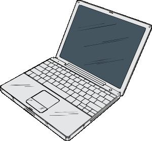 mac laptop clipart