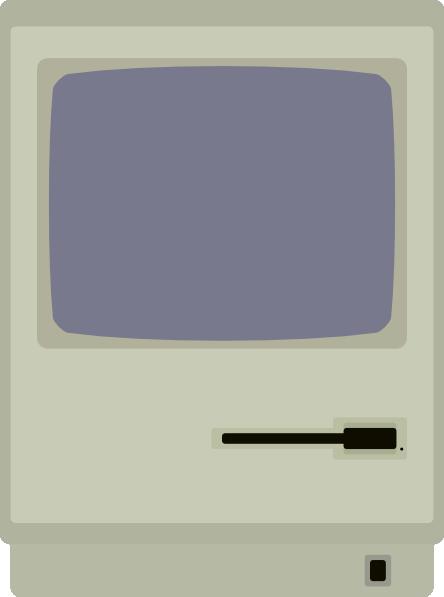 Macintosh Computer Clip Art