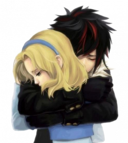 Anime Love Couple PNG Clipart