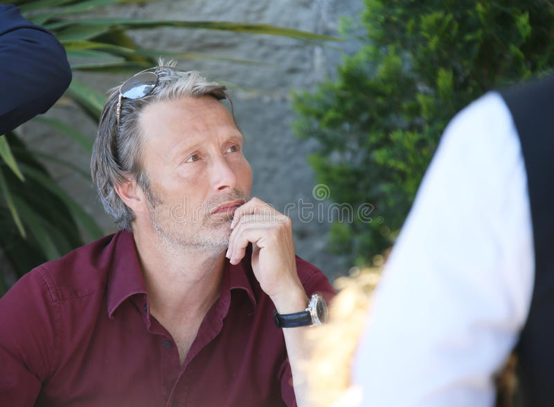 Mads Mikkelsen Clipart Mads Mikkelsen Attends The Mayor`s Lunch Editorial Photography -  Image of fame,