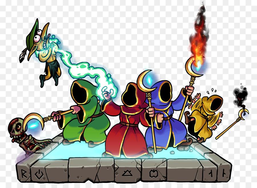 Magicka: Wizard Wars Castle Crashers Magician Game - Magicka PNG Free  Download